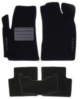 Коврики в салон для Geely Emgrand EC7 '11- текстильные, черные (Люкс)