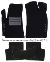 Коврики в салон для Geely FC '06- текстильные, черные (Люкс)
