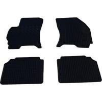 Коврики в салон для Ford Mondeo '01-07 резиновые, черные (Rigum)