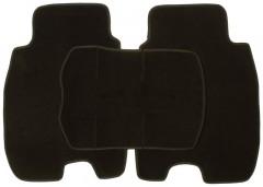 Фото 5 - Коврики в салон для Honda Civic 5D '06-12 текстильные, черные (Люкс)