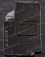 Коврики в салон для Hyundai Accent '01-05 текстильные, черные (Люкс)