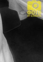 Фото 8 - Коврики в салон для Hyundai Accent '06-10 текстильные, черные (Люкс)
