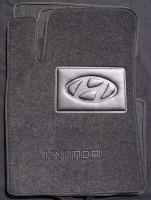 Коврики в салон для Hyundai Grandeur '05-11 текстильные, черные (Люкс)