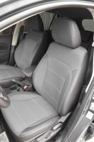 Авточехлы Premium для салона Suzuki SX4 '13-, серая строчка (MW Brothers)