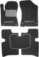 Коврики в салон для Geely MK / MK Cross HB '11- текстильные, серые (Люкс)