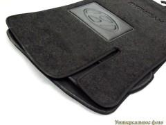 Коврики в салон для Hyundai ix-20 '11- текстильные, черные (Люкс)