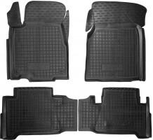 Коврики в салон для Acura MDX '06-13 резиновые, черные (AVTO-Gumm)