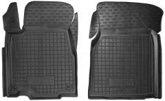 Коврики в салон передние для Acura MDX '06-13 резиновые, черные (AVTO-Gumm)