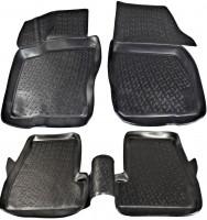 Коврики в салон для Ford Focus III '11- полиуретановые, черные (L.Locker)