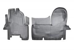 Коврики в салон для Iveco Daily '11-14 полиуретановые (Nor-Plast)