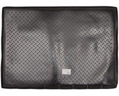 Коврик в багажник для Peugeot Partner '08- пассажирский, резино/пластиковый, черный (Nor-Plast)