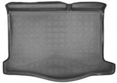 Коврик в багажник для Renault Sandero / Stepway  '13-, полиуретановый, черный (Nor-Plast)