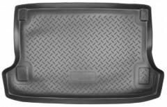 Коврик в багажник для Suzuki Grand Vitara '06- (5 дверей) полиуретановый, черный (Nor-Plast)