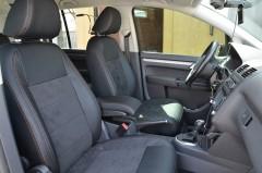Авточехлы Leather Style для Volkswagen Touran '03-10 (MW Brothers)