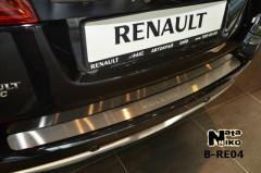 Накладка на бампер для Renault Koleos '06-16 (Premium)