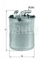 Топливный фильтр Knecht KL 778