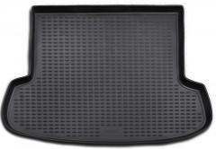 Коврик в багажник для Hyundai Accent '06-10 седан, полиуретановый (Novline / Element) черный