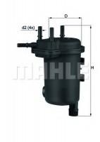Топливный фильтр Knecht KL 632D