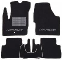 Коврики в салон для Land Rover Freelander II '06-14 текстильные, серые (Люкс)