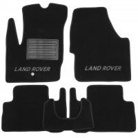 Коврики в салон для Land Rover Freelander II '06-14 текстильные, черные (Люкс)