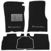 Коврики в салон для Mercedes ML-Class W163 '98-05 текстильные, серые (Люкс)