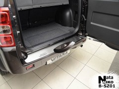 Накладка на бампер для Suzuki Grand Vitara '06- (Premium)
