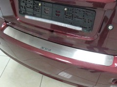 Фото 1 - Накладка на бампер для Suzuki SX4 2006-2014, седан (Premium)