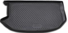 Коврик в багажник для Kia Soul '09-13 (верхний), полиуретановый (Novline / Element) черный EXP.NLC.25.25.B13