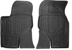 Коврики в салон передние для Geely GS7 '15- резиновые, черные (AVTO-Gumm)