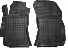 Коврики в салон передние для Subaru Outback '15- резиновые, черные (AVTO-Gumm)