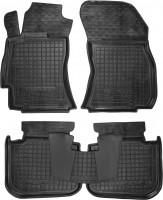 Коврики в салон для Subaru Outback '15- резиновые, черные (AVTO-Gumm)