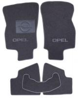 Коврики в салон для Opel Astra H '04-15, хетчбек, текстильные, серые (Люкс)
