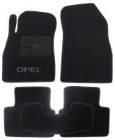 Коврики в салон для Opel Insignia '09- текстильные, черные (Люкс)