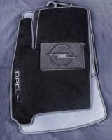 Коврики в салон для Opel Meriva '03-09 текстильные, черные (Люкс)