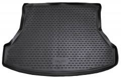 Коврик в багажник для Lada (Ваз) Калина (Ваз) 1117 '04-13, полиуретановый (Novline / Element) черный