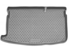 Коврик в багажник для Mazda 2 '07-14, полиуретановый (Novline / Element) серый