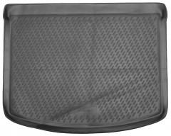 Коврик в багажник для Mazda 3 '04-09 хетчбэк, полиуретановый (Novline / Element) серый