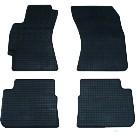 Коврики в салон для Subaru Impreza '07-12 резиновые, черные (Rigum)