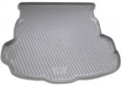 Коврик в багажник для Mazda 6 '08-12 седан, полиуретановый (Novline / Element) серый