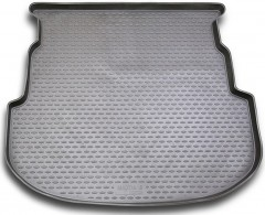 Коврик в багажник для Mazda 6 '08-12 универсал, полиуретановый (Novline / Element) серый