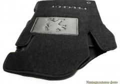 Коврики автомобильные Peugeot 4007 '07- текстильные чёрные Люкс