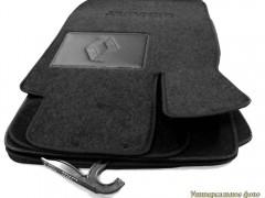 Коврики автомобильные Renault Latitude '10- текстильные чёрные Люкс