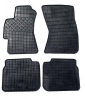 Коврики в салон для Subaru Legacy '04-10 резиновые, черные (Rigum)