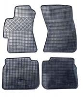 Коврики в салон для Subaru Legacy '04-10 резиновые, серые (Rigum)