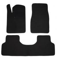 Коврики в салон для Samand EL / LX 06- текстильные, черные (Люкс)