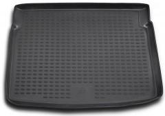 Коврик в багажник для Peugeot 207 '06-12, полиуретановый (Novline / Element) черный