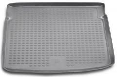 Коврик в багажник для Peugeot 207 '06-12, полиуретановый (Novline / Element) серый