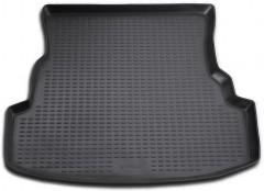Коврик в багажник для Renault Symbol '01-08 седан, полиуретановый (Novline / Element) черный
