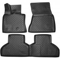 Полиуретановые коврики 3D в салон для BMW X5 F15/X6 F16 '14- (Novline / Element)