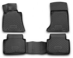 Полиуретановые коврики 3D в салон для Hyundai Genesis '12- (Novline / Element)